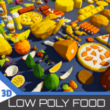 Low Poly Food