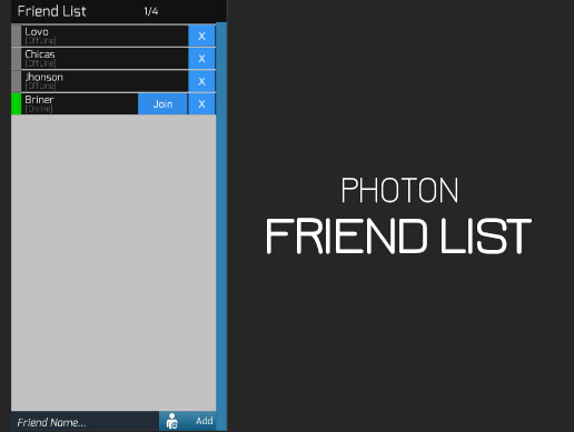 Photon Friend List