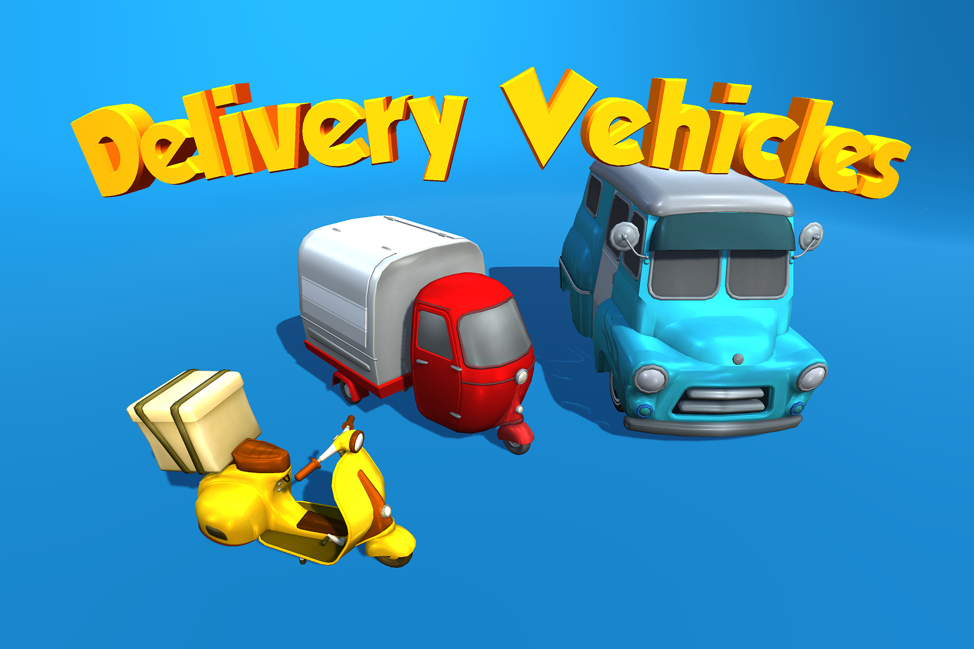 Delivery Vehicles Pack