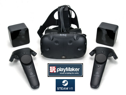 Steam VR tools for Playmaker