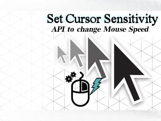 Set Cursor Sensitivity
