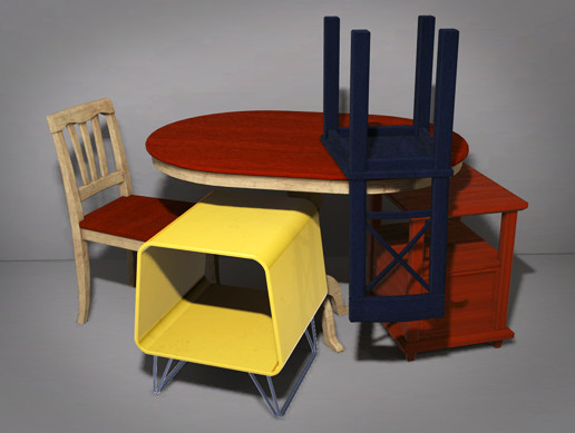 Customizable Tables and Chairs