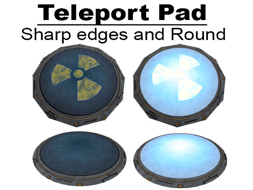 Simple Teleport Pad