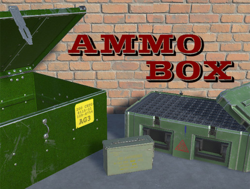 Ammo boxes PBR