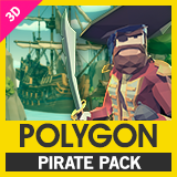 POLYGON - Pirates Pack