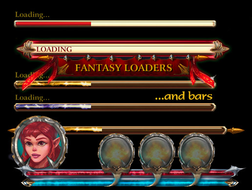 Fantasy Loaders and Bars
