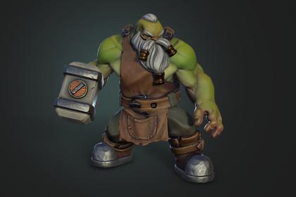 Dwarf The Blacksmith
