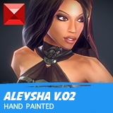 Aleysha - Low Poly Female Heroine