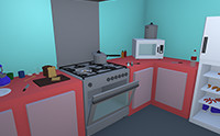 Lowpoly Kitchen Pack