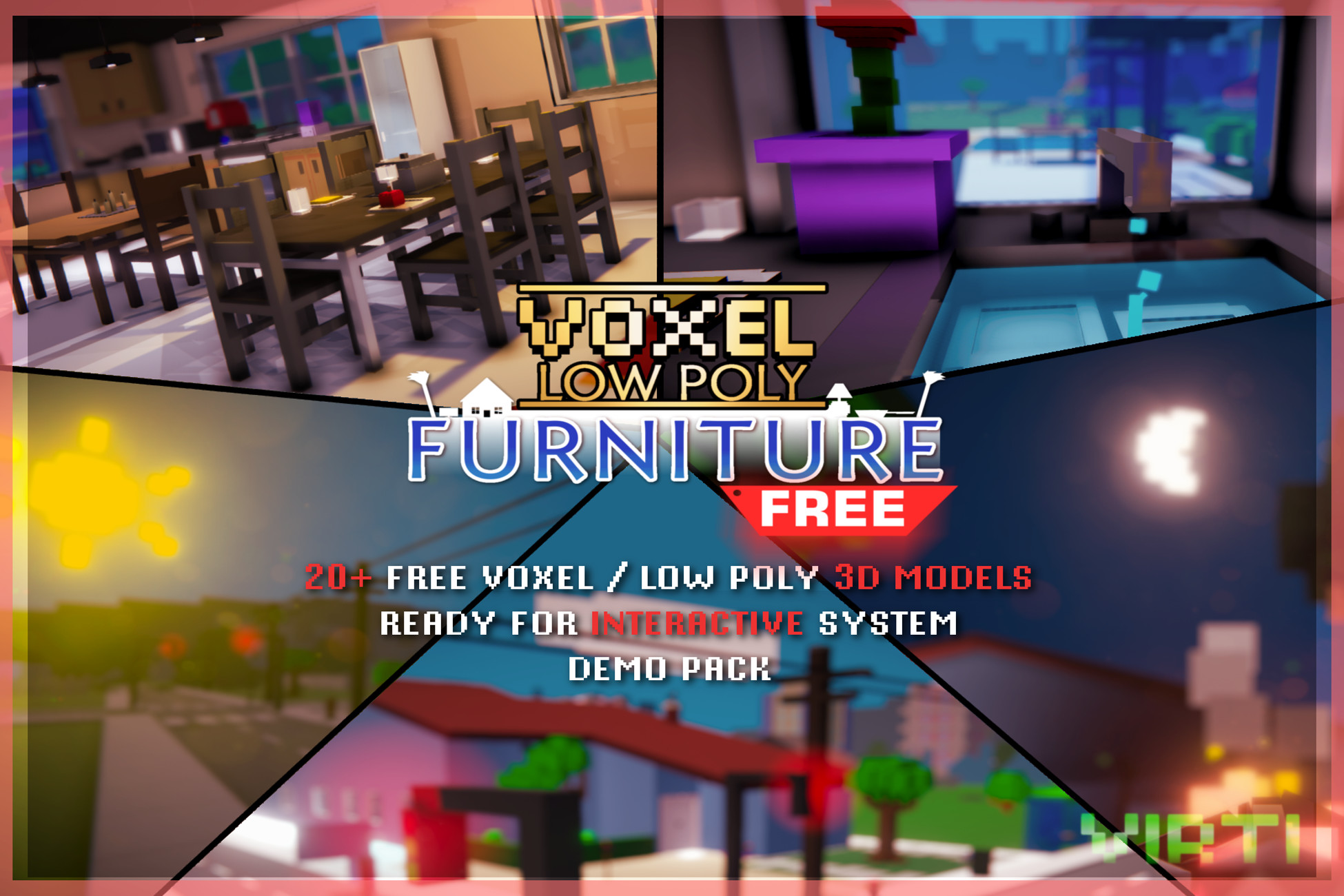 VOXEL Furniture FREE