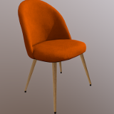 Retro-Modernistic Dining Chair