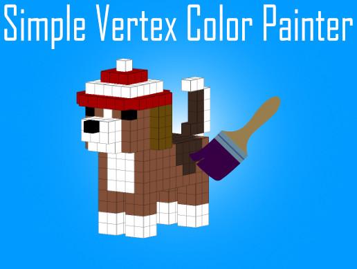 Simple Vertex Color Painter