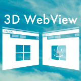 3D WebView for Windows and macOS (Web Browser)