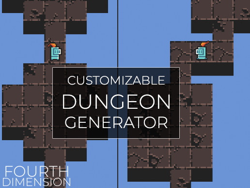 Customizable Dungeon Generator