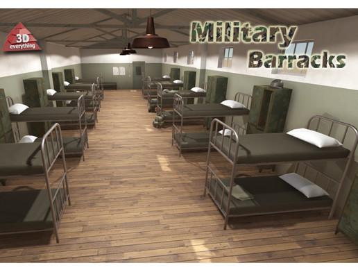 Military Barracks Asset Store