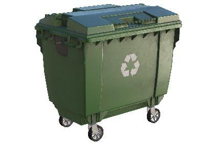 Plastic Dumpster PBR