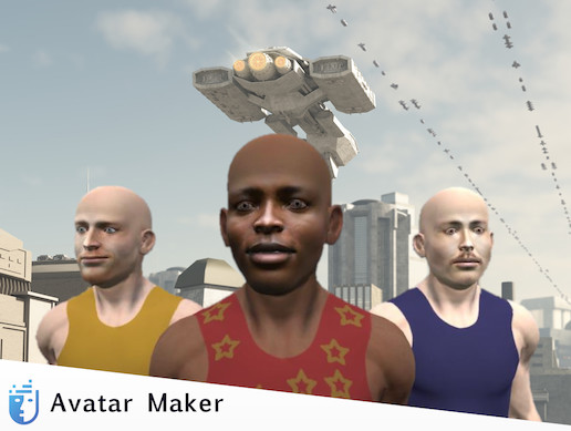 UMA Avatar Maker Male Characters Pack