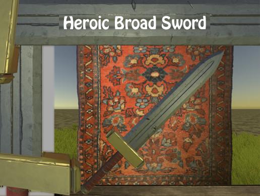 Heroic Broad Sword
