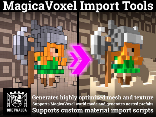 MagicaVoxel import tools