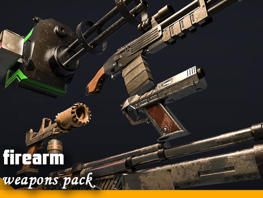 Firearm weapons pack