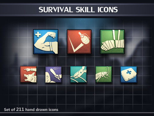Survival Skill Icons