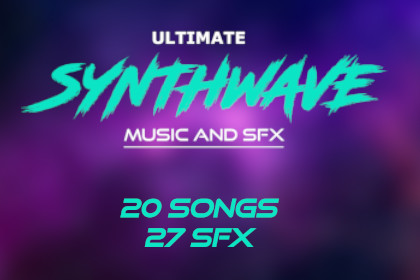 Ultimate Synthwave Music and SFX