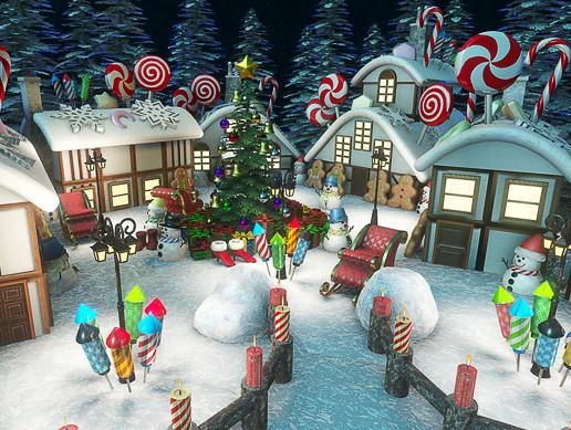 Xmas Town HD