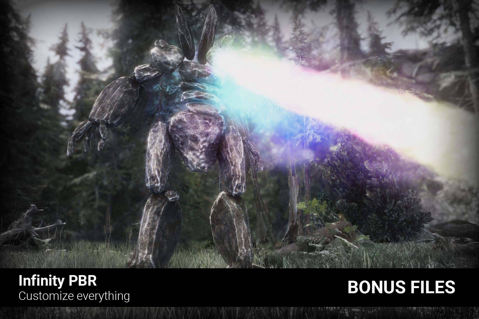 Rock Monster - Bonus Files 3 - Unreal Project