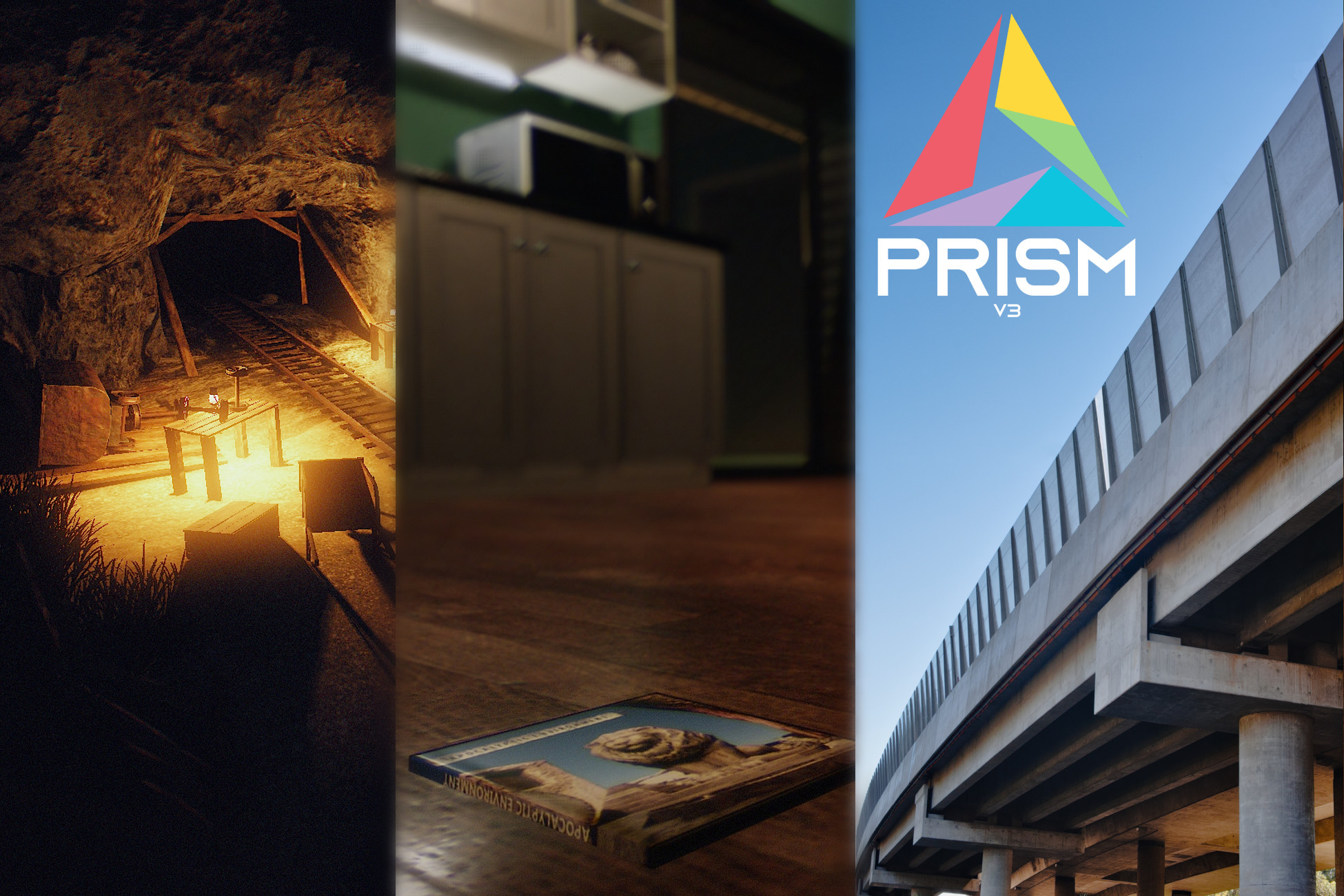 PRISM v3 - Realistic Post-Processing for Unity