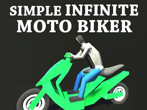 Simple Infinite MotoBiker