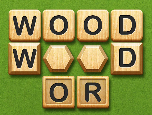 wood block icons for word game