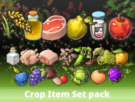 Crop Item Set pack