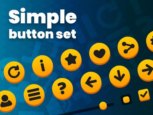 Simple Button Set 01