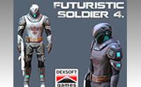 Futuristic Soldier 4.
