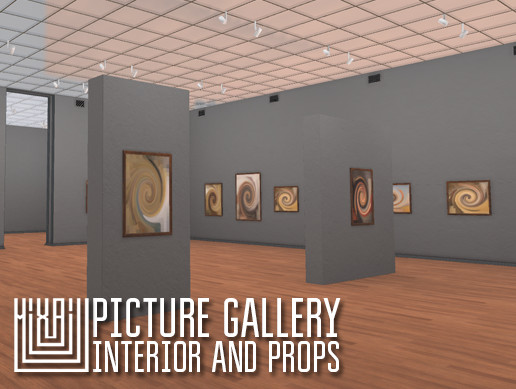 Picture gallery - interior and props