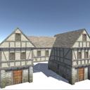 Medieval House 3d 3d Historic Unity Asset Store