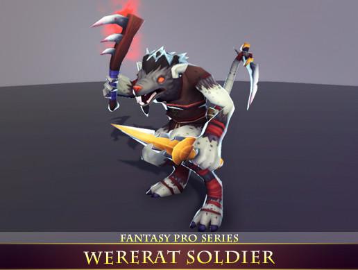 WereRat Soldier