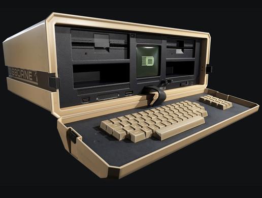 Retro Laptop