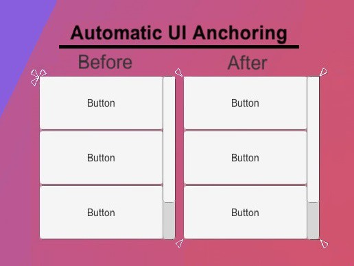 Automatic UI Anchoring