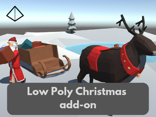 Low Poly Christmas add-on