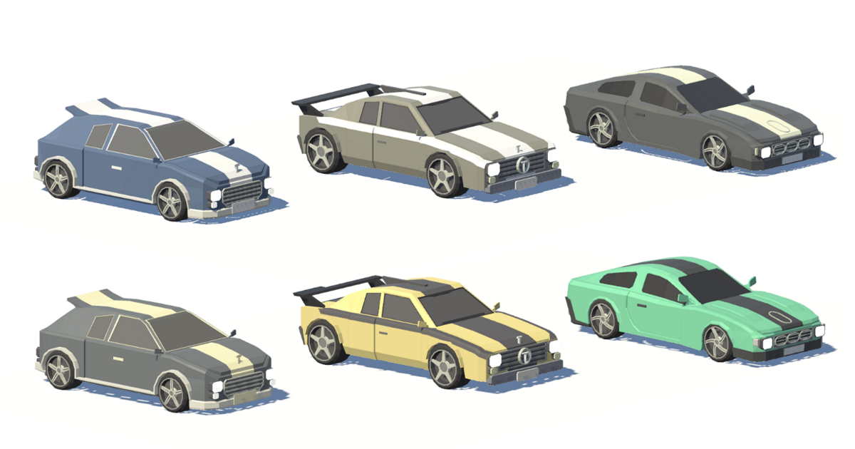 Low Poly Rally