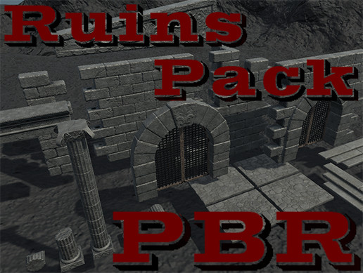 Ruins Pack PBR