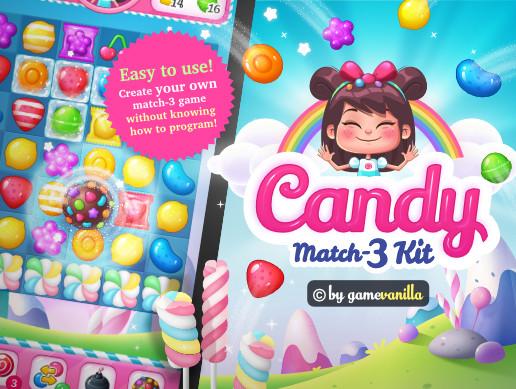 Candy Match 3 Kit - Asset Store