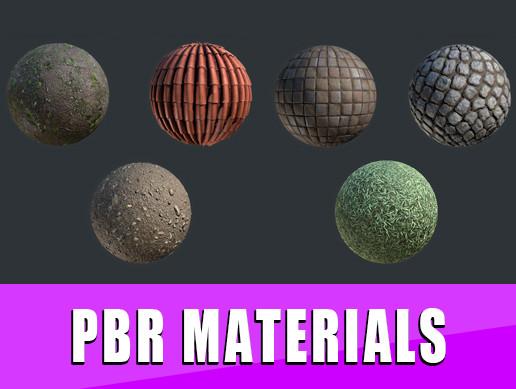 PBR MATERIALS Vol.1