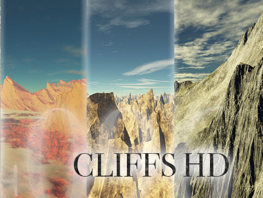 Cliffs HD Skybox Pack