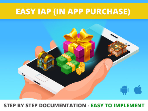 Easy IAP (In App Purchase)