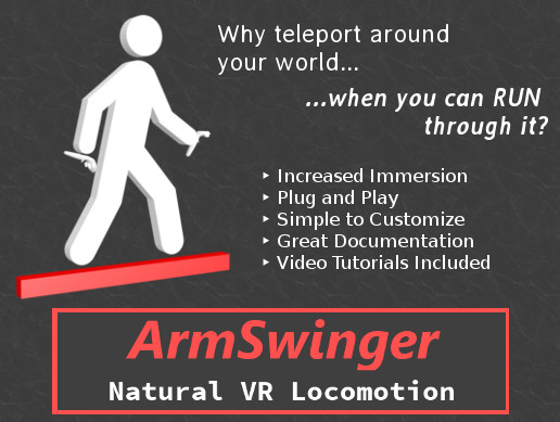 ArmSwinger VR Locomotion for SteamVR