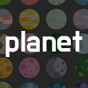 105 Colorful 2D Planet Icons