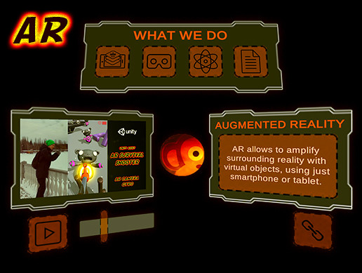 AR Menu (AR Business Card): Augmented Reality with Vuforia