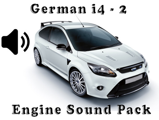 I4 German - Engine Sound Pack - 2